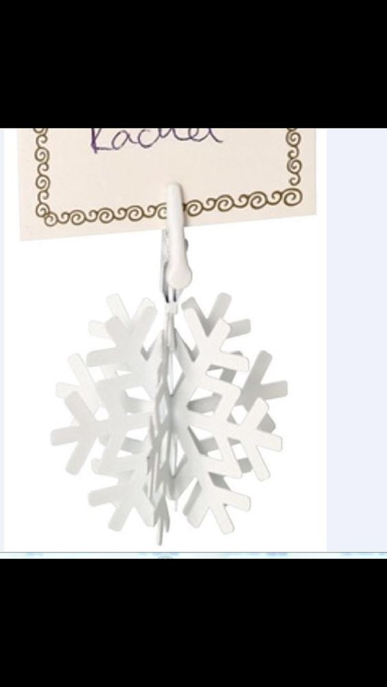 Bauble place card setting