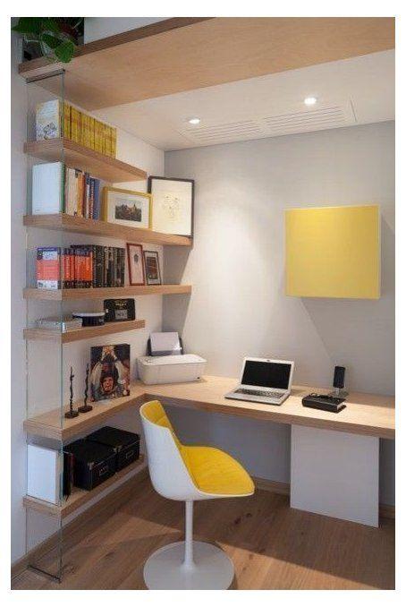 Ao fazer a decoração para home office, você pode investir em detalhes em cores vibrantes.