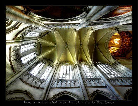 Interior de la catedral de la plata III - Diaz De Vivar Gustavo by Gustavo Diaz De Vivar on 500px