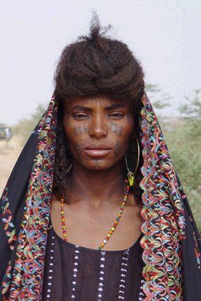 Artagence Coiffure Africaine Ethnik    Niger - Wodaabe (Bororo / Fulani)    #artagence