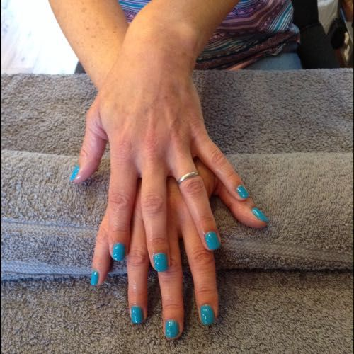 Cerulean Sea- shellac