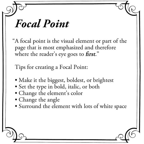 focal point defined focal point pinterest focal points