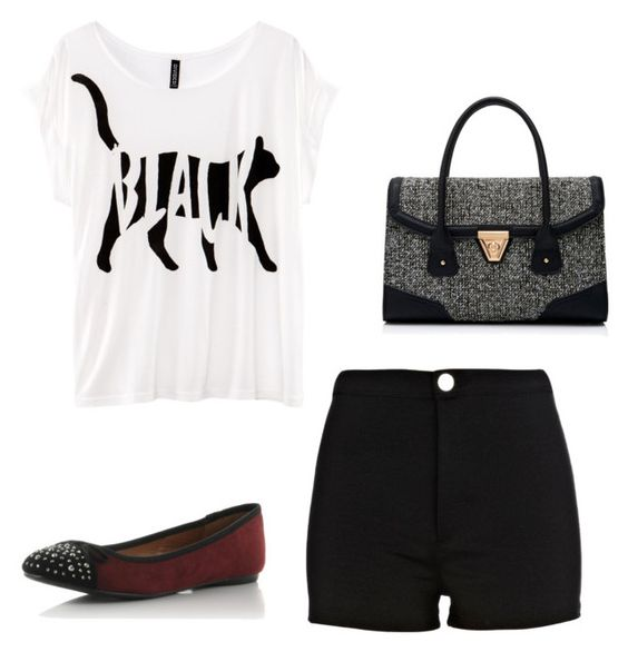 #118 by nandamfontes on Polyvore featuring H&M, River Island and Forever New