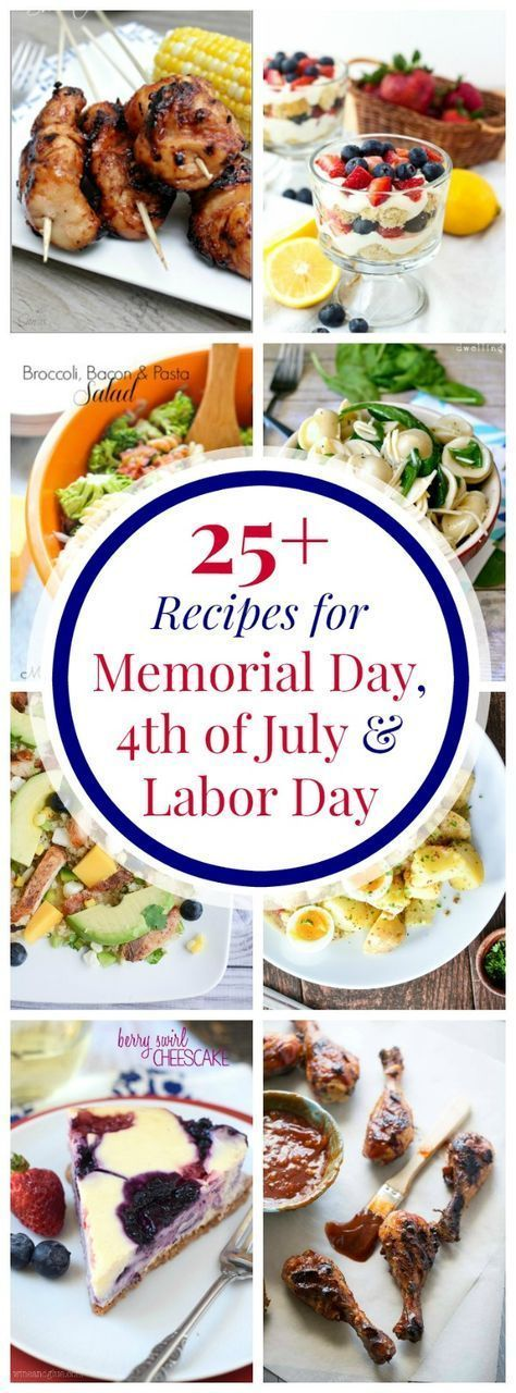 40+ All-American Recipes to Celebrate the Patriotic Holidays this Summer - Cupcakes & Kale Chips