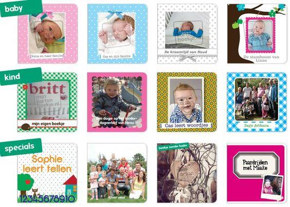 Je kunt in enkele stappen en met eigen foto's een kartonnen boekje ontwerpen. Leuk voor het kleinkind. Je kiest het …
