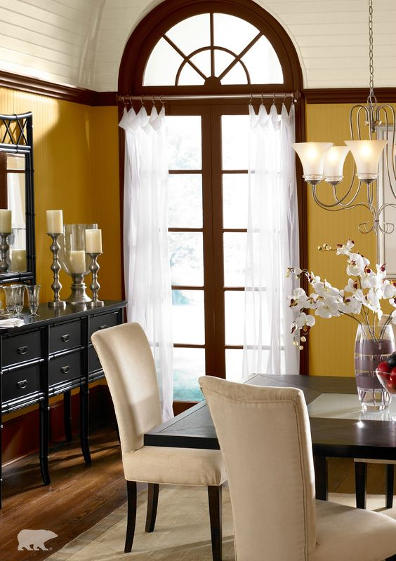 Behr Paint In Romanesque Gold And Baronial Brown Is Sure To Make The Perfect Wall Color To Pair