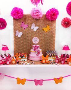 Festa borboleta Butterfly party