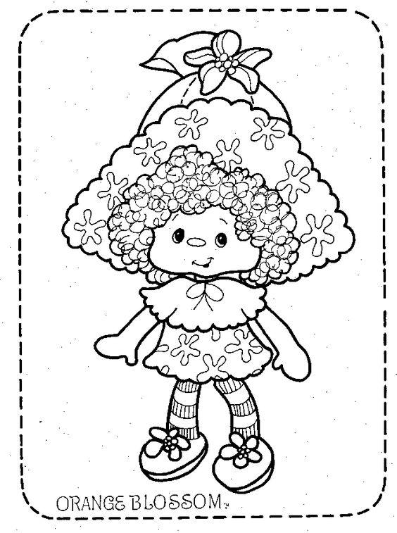 * Coleção Moranguinho * Strawberry Shortcake: Moranguinho para Colorir