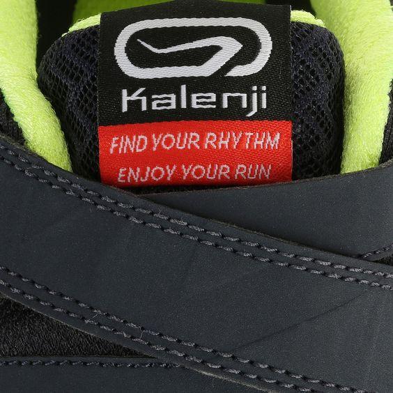 ELIOFEET MAN Gris Fluo KALENJI - Chaussures de running Kalenji - Decathlon