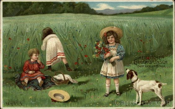 Herzlichen Gluckwunsch Zum Geburtstage Children