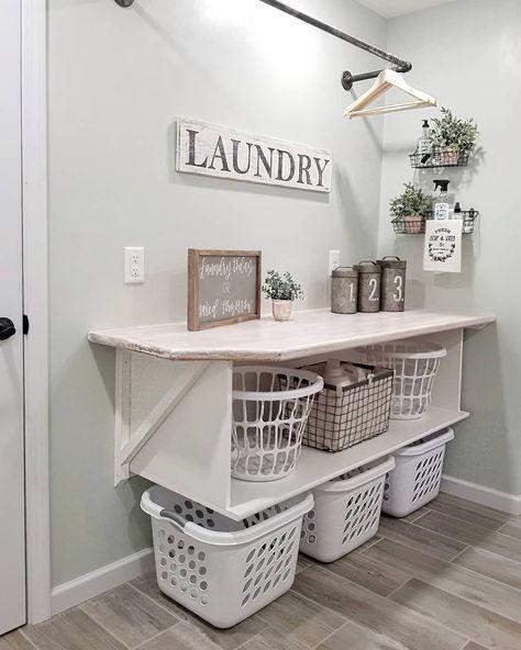 Laundry Room Organization Storage Shelves Pantries 56 Ideas Ideas Laundry Laundryroo In 2020 Laundry Room Diy Laundry Room Decor Laundry Room Organization Storage