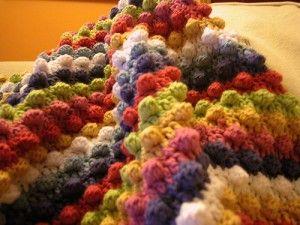 : Crochet Blankets, Knit Crochet, Crochet Afghans, Blackberry Salad, Salad Striped, Baby Blankets, Crochet Pattern