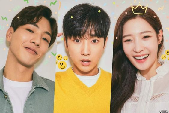 Ji Soo, B1A4's Jinyoung, And DIA's Jung Chaeyeon Are Young And In Love In New Posters For Netflix Drama