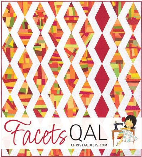 https://flic.kr/p/CHYe8N | Join the fun! #facetsqal starts 1/29! Details at ChristaQuilts.com. Who's in? #machinequiltingwithstyle