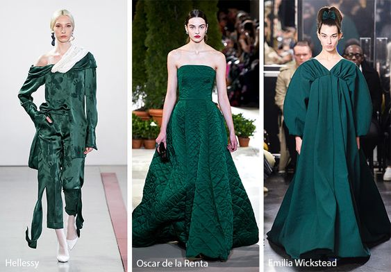 Fall/ Winter 2019-2020 Color Trends: Fall 2019 Runway Colors