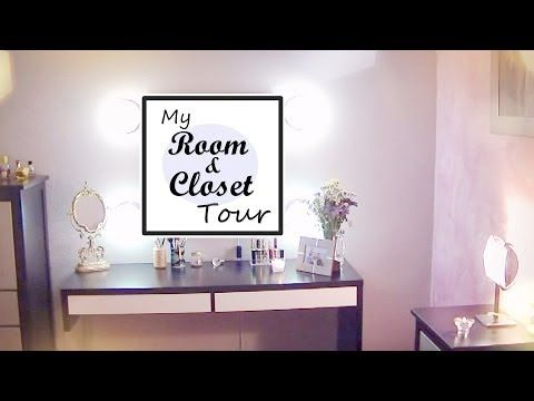 My Room & Closet Tour - YouTube
