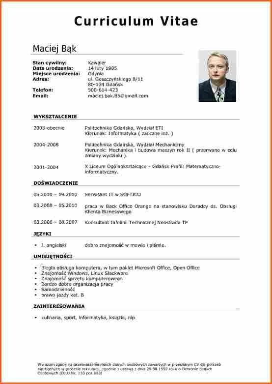 Resume Templates And Resume Examples Curriculum Vitae Resume