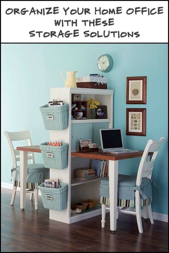 Put Some Order in Your Home Office with these Storage Solutions