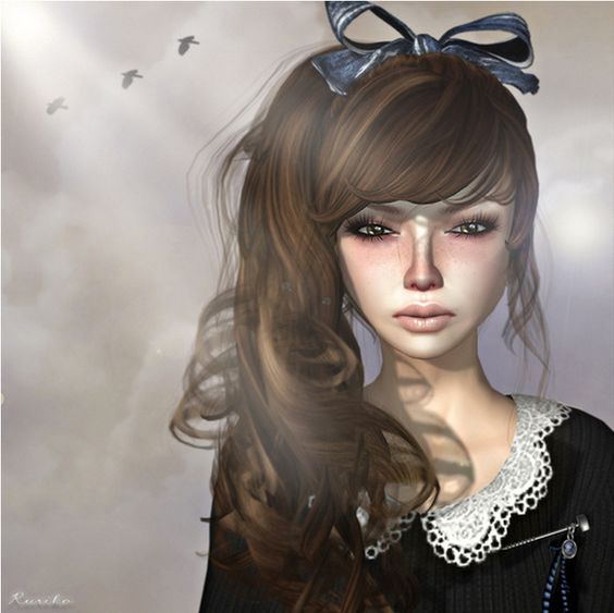 """Check out the Second Life Pic of the Day, """"Crybaby"""", photo by Ruriko Bracken."""