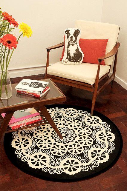 doily carpet - wow decò - via designerblog.it