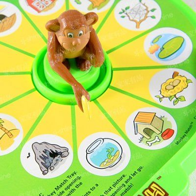 La forma mas divertida de con los pequeños aprendan con este divertido mono. Coloca el mono en un lado del tablero con la tarjeta que te guste, elige un dibujo con el mono señalándolo con el plato, y mágicamente al pasarlo al otro lado te dará la respuesta o relación ¡Increíble!.  Consiguelo por solo $20€ en #Fabbritoy #Juguetes #Educativo