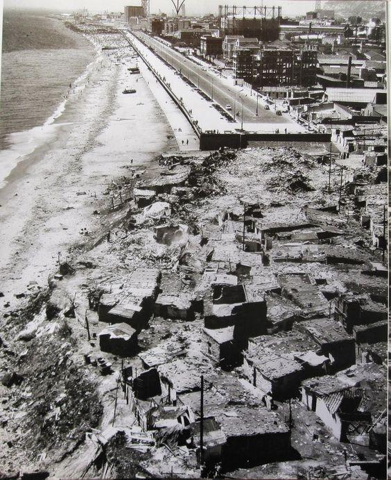 1970 - Las barracas del Somorrostro van desapareciendo. BARCELONA, AHORA Y SIEMPRE: Vallcarca-El Coll