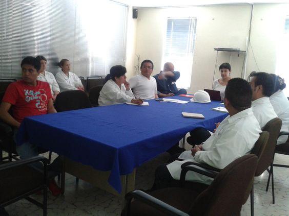 Junta de seguimiento, bajo la Norma #HACCP, en la empresa Industrial Patrona. www.SINCAL.org
