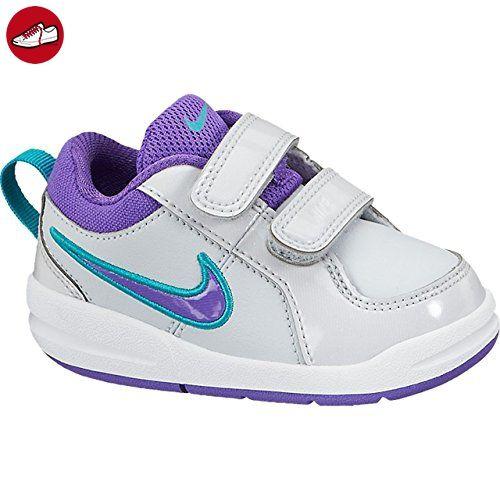 Nike Schuhe Kinder Mädchen Pico 4 (tdv) Pure platinum\/trb grn-prpl - grn farben