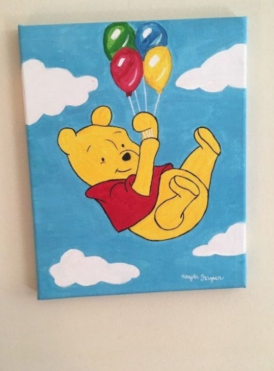 Cute Things To Paint Easy Mundorosa Maedemenina Princess In 2020 Disney Canvas Art Cute Canvas Paintings Funny Paintings
