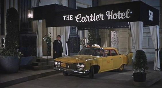 Love the classic mid century look of this NY city scene in the Doris Day, James Garner film The Thrill Of It All!: