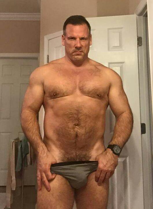Naked men love we