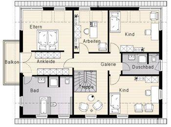 Elw im eg integriert passt grundrisse okal haus for Zweifamilienhaus grundriss beispiele