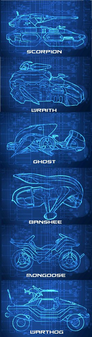 All the Halo vehicles I hate to drive (except the Ghost).