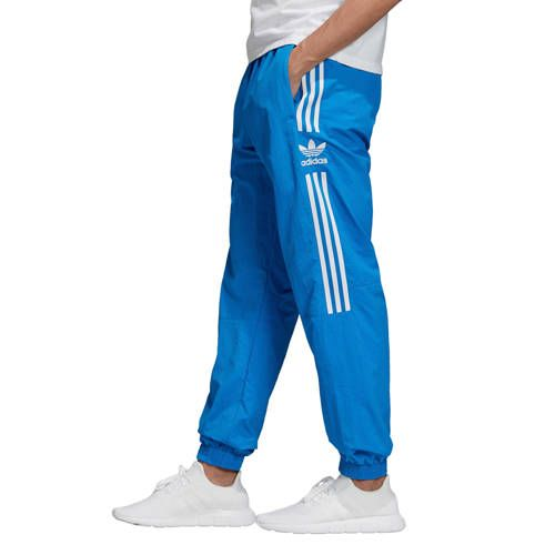 adidas Originals regular fit joggingbroek blauw ...