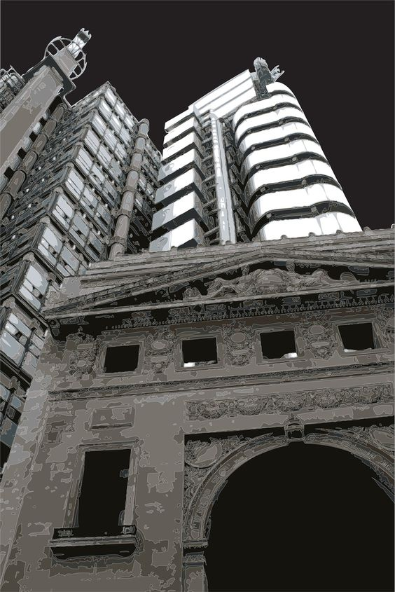 The Lloyd's Building by Keith Dodd
