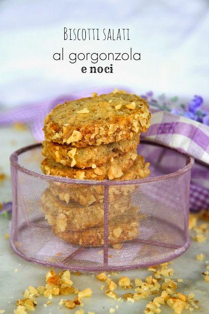 il bosco di alici: Biscotti salati al gorgonzola e noci