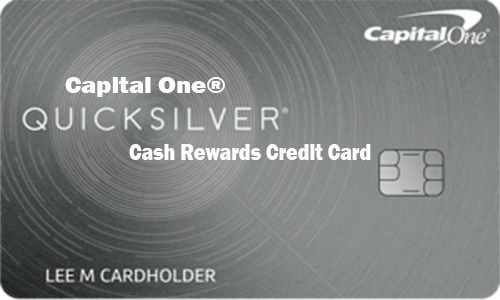 Capital One® Quicksilver® Cash Rewards Credit Card - How to Apply