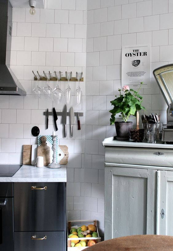 Kok Hylla Ikea : kok hylla ikea  (Tant Johanna) Grey Kitchens, Cup Holders and Ikea