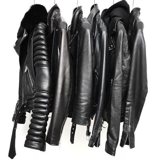Squad...✖️✖️ Leather Jacket Edit on figtny.com ! #leatherjacket #monocrome #figtny: