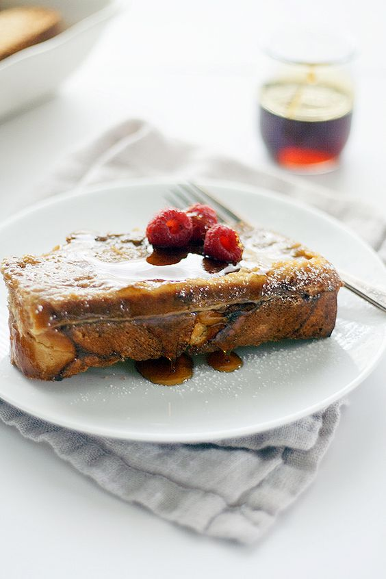 toast lovers, this baked creme brulee french toast takes breakfast ...
