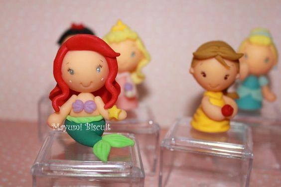 Mayumi Biscuit: Lembrancinha Princesas Disney