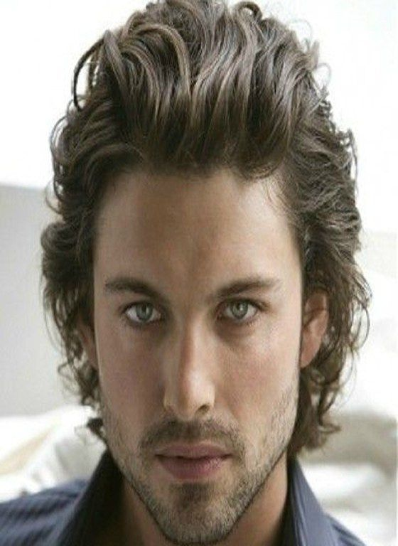 10 Curly Slicked Back Men Hairstyles Wavy Hair Men Curly Hair Men Mens Hairstyles