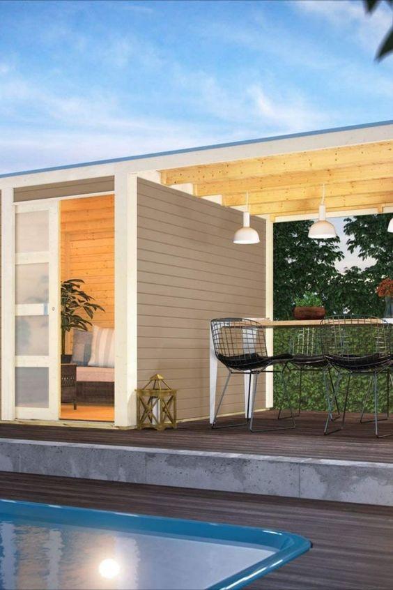 Gartenhaus zum wohnen