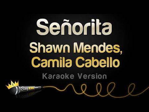 Shawn Mendes Camila Cabello Senorita Karaoke Version