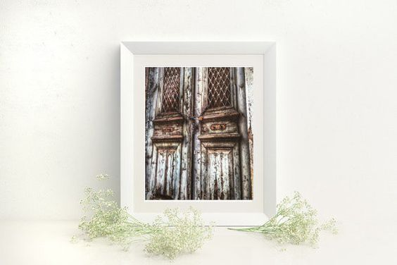 Rustic Door Photography Greek Door Wall Art  Wooden Door Photography locker Vintage, Old, Athens Greece, Fine Art Giclee Print or Canvas by S4StarSbySiSSy on Etsy https://www.etsy.com/ca/listing/294888331/rustic-door-photography-greek-door-wall