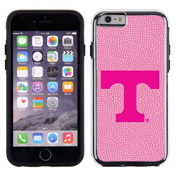 Tennessee Volunteers Logo Pink iPhone 6 Leather Case