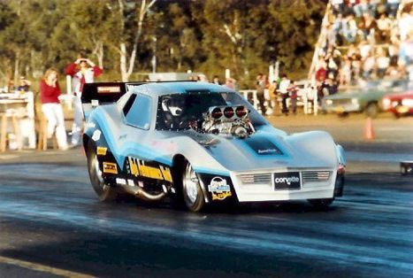 Graeme Cowin's High Performance World Top Fuel Funny Car