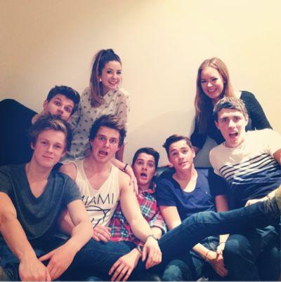 alfie caspar jack and finn | Sam Pepper, Jack Harries, Zoella, Alfie Deyes,Finn Harries,Caspar Lee ...