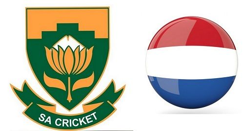 Netherlands vs south africa t20 world cup match live score, south africa have lost second wicket..