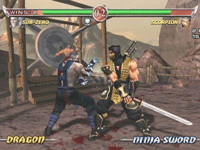 Mortal Kombat 5 Screenshots